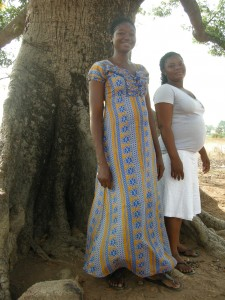 Agnes Ayam and Henerita Anuba AHR beneficiaries Tongo-Beo 2. JPG