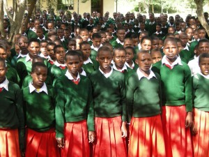 Girls in Mbulu District, Tanzania