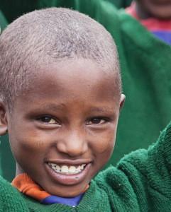 Maasai schoolgirl Beby Ramat