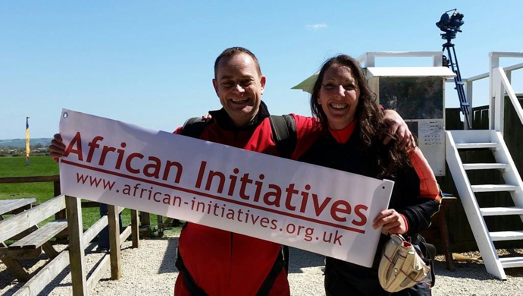Emily & Alain Skydive April 2015