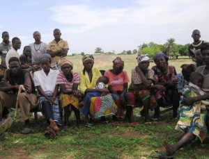 Community Meeting at Kumpariguga