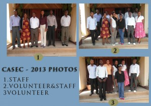 CASEC Staff and Volunteers group 2012