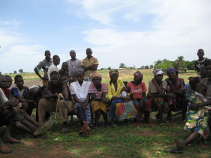 Community Meeting, Nagbere